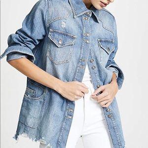 Moonchild Shirt Jacket - Never Been Worn